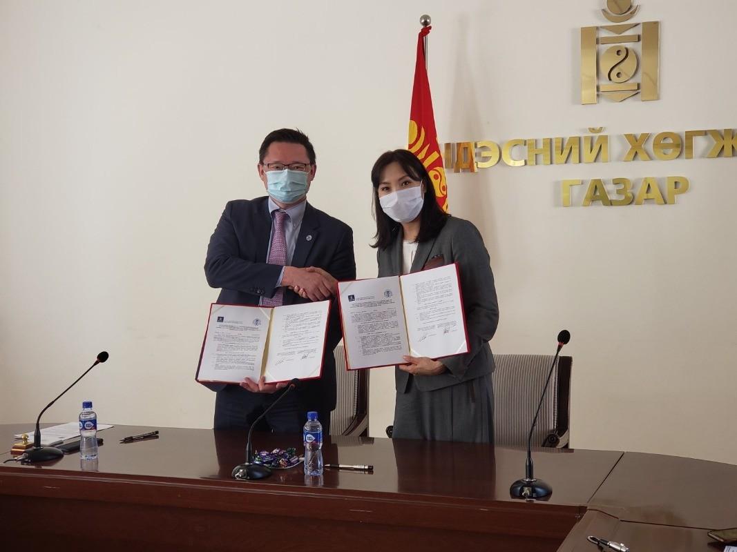 Үндэсний хөгжлийн газар, монголын олон улсын арбитртай хамтран ажиллах санамж бичиг байгууллаа